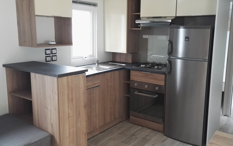 cuisine mobil-home 3 chambres