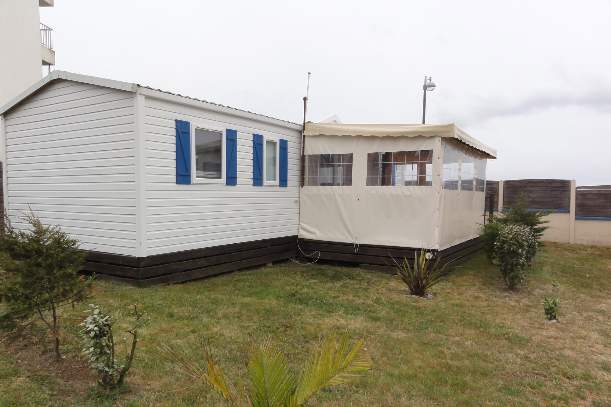 mobil-home-grand-large-3-chambre - Camping Bord de Mer