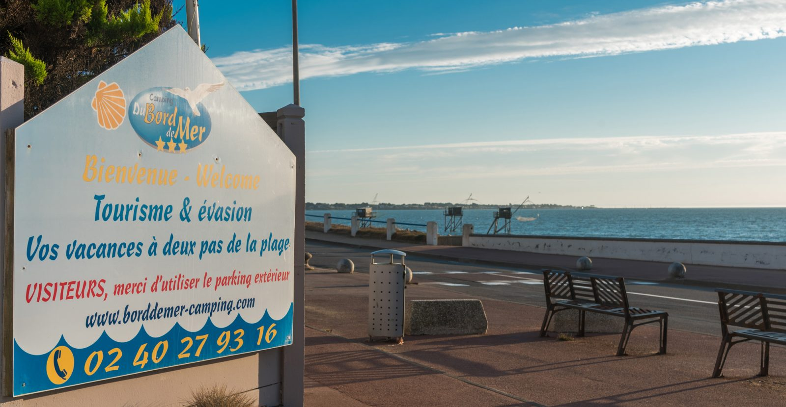 Welcome to Camping Du Bord de Mer, your campsite beside the sea at ...